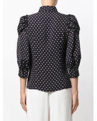 Antonio Marras - Blue Polka Dot Print Shirt - Lyst