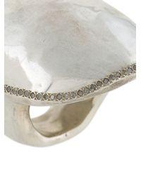 Rosa Maria - Metallic Turtle Top Ring - Lyst