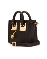 Sophie Hulme - Brown 'albion' Tote Bag - Lyst