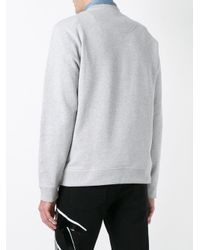 KENZO - Gray Eye Sweatshirt for Men - Lyst