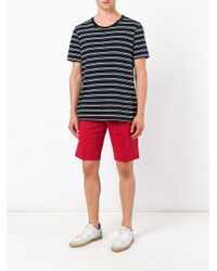 PT01 - Red Bermuda Shorts for Men - Lyst