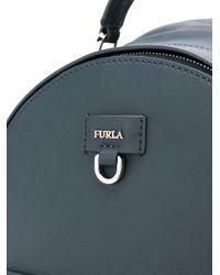 Furla - Blue Mini Functional Backpack - Lyst