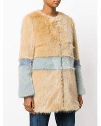 Shrimps | Brown Garfunkel Faux Fur Coat | Lyst