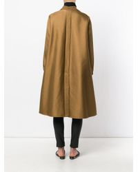 Forte Forte - Brown Flared A-line Coat - Lyst