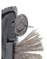 Camila Klein - Metallic Tassel Detail Earrings - Lyst