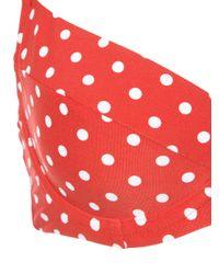 Onia - Red X Weworewhat Lydia Bikini Top - Lyst