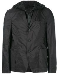 Prada - Black Polyamide Blazer for Men - Lyst