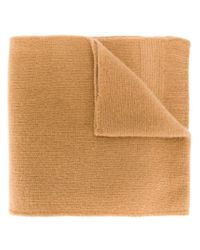 Sofie D'Hoore - Brown Classic Knitted Scarf - Lyst