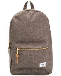 Herschel Supply Co. Logo Patch Backpack in Green for Men - Lyst c4238e99cb