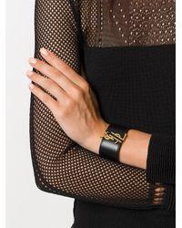 Saint Laurent - Black 470657dv70w 1000 Leather - Lyst