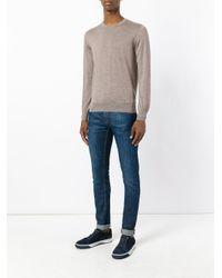 Cruciani - Multicolor Crew Neck Sweater for Men - Lyst