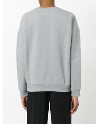 Each x Other - Gray Alessandra D'urso Print Sweatshirt - Lyst
