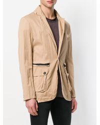 Di Liborio - Natural Worn Effect Blazer for Men - Lyst