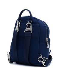KENZO Blue Small Tiger Backpack for men