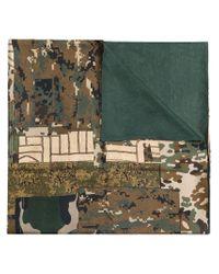 Pierre Louis Mascia - Multicolor Camouflage Print Scarf - Lyst