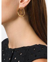 Charlotte Chesnais - Metallic Turtle Earring - Lyst