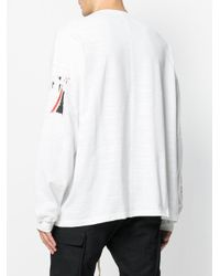 Represent - White Flag Print Sweatshirt for Men - Lyst