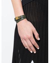 Buscemi - Multicolor Wrap Around Lock Bracelet - Lyst