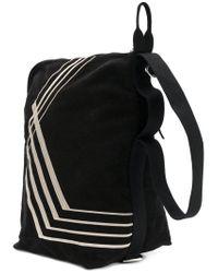 Lyst - Rick Owens Drkshdw Stripe Panel Shoulder Bag in Black for Men eb69a55b9f664