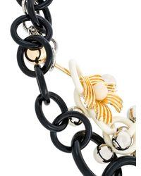 Marni | Black Acrylic Multi-chain Necklace | Lyst