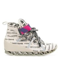 Bernhard Willhelm - Multicolor Multi-print Camper Sneakers - Lyst
