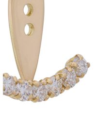 Yvonne Léon - Metallic 7 Diamonds Ear Jacket - Lyst