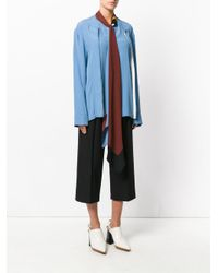 Marni - Blue Silk Shirt - Lyst