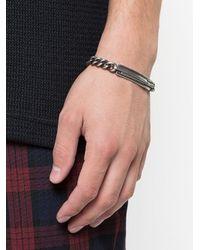 Werkstatt:münchen - Metallic Tape Tag Bracelet - Lyst