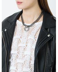 Mawi - Metallic Bondage Necklace - Lyst