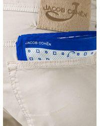 Jacob Cohen - Natural Slim-fit Trousers for Men - Lyst