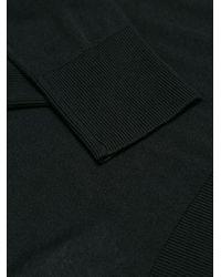Versace - Black Turtle-neck Studded Sweater - Lyst