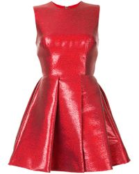 Alex Perry - Red Ainsley Dress - Lyst