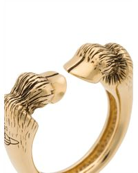 Vivienne Westwood - Metallic Alphonso Ring Oxidised Gold - Lyst