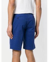 Hackett - Blue Chino Shorts for Men - Lyst