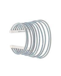 Maison Margiela - Metallic Cuff Bracelet - Lyst
