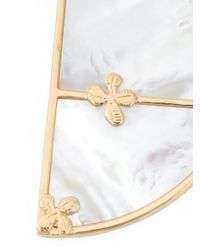 Aurelie Bidermann | Metallic 'bianca' Reversible Hoop Earrings | Lyst