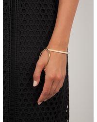 Charlotte Chesnais - Metallic 'bond' Bracelet - Lyst