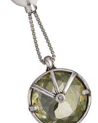 Camila Klein - Multicolor Crystal Embellished Drop Earrings - Lyst