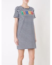 Yazbukey - Blue Summer T-shirt Dress - Lyst