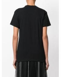 P.A.R.O.S.H. - Black Perforated Tiger T-shirt - Lyst