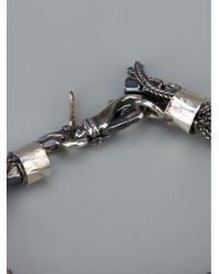 Emanuele Bicocchi - Metallic Gem Bracelet - Lyst