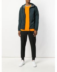 C P Company - Blue Hooded Zip Jacket for Men - Lyst