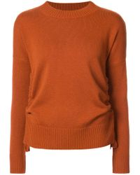 10 Crosby Derek Lam - Red Crewneck Sweatshirt - Lyst