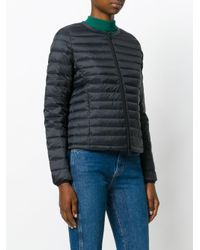 Ecoalf - Black Puffer Jacket - Lyst