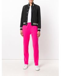 Majestic Filatures - Pink Knitted Track Pants - Lyst