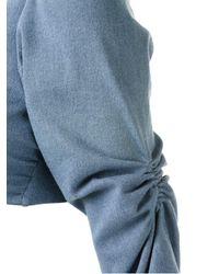 Amir Slama - Blue Loong Sleeve Bikini Set - Lyst