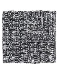 Moncler Gamme Bleu - Black Signature Knitted Scarf for Men - Lyst