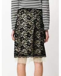 Marc Jacobs - Black Lace Skirt - Lyst