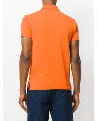 Polo Ralph Lauren - Orange Contrast Logo Polo Shirt for Men - Lyst