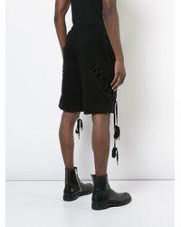 D.GNAK - Black X-string Shorts for Men - Lyst